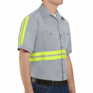 SC40EG Enhanced Visibility Cotton Work Shirt