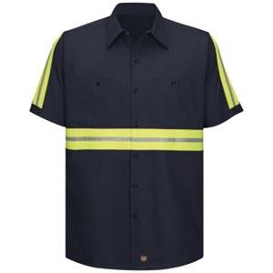 SC40EN Enhanced Visibility Cotton Work Shirt