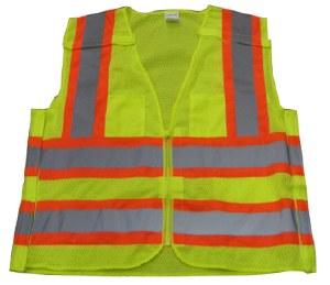 Vest52 High Visibility Class 2 4-Point Breakaway 2 Tone Vest