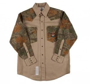 FR1104 FR Two Tone Work Shirt
