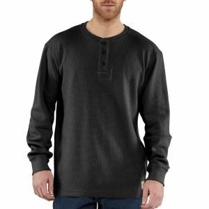 100568 Textured Knit Henley