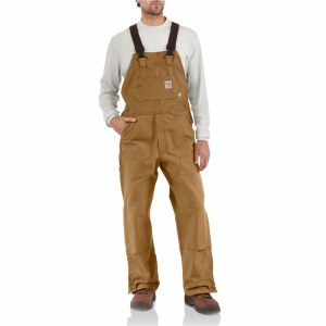 101627 Flame Resistant Duck Bib Overall