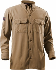 DF2-324LS Long Sleeve Flame Resistant Utility Shirt