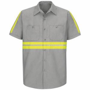 SP24EG Enhanced Visibility Industrial Work Shirt