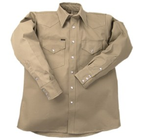 INKWS Flame Resistant Western Heavy Weight Welding Shirt