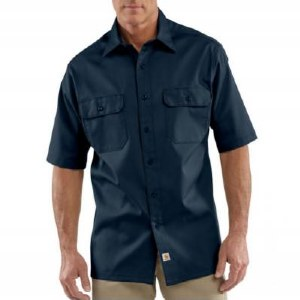S223 Twill Short-Sleeve Work Shirt