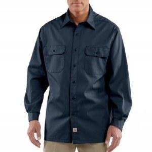 S224 Twill Long-Sleeve Work Shirt