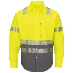 SLB4 Hi-Visibility FR Block Uniform Shirt