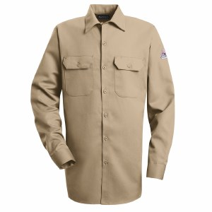 SLW2 Flame Resistant Button Front Work Shirt