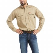 10012251 FR SOLID WORK SHIRT