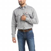 10012253 FR SOLID WORK SHIRT