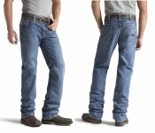 10014449 ARIAT FR M3 LOOSE BASIC STRAIGHT LEG JEAN