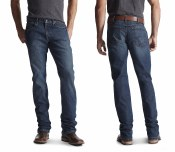 10016221 ARIAT REBAR M4 LOW RISE DURASTRETCH EDGE BOOT CUT JEAN