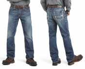 10018365 FR M4 LOW RISE RIDGELINE BOOT CUT JEAN