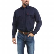 10018816 FR SOLID WORK SHIRT