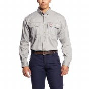 10019063 FR SOLID VENT SHIRT