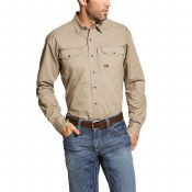 10019158 REBAR WORKMAN WORK SHIRT