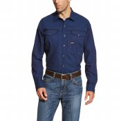 10019159 REBAR WORKMAN WORK SHIRT