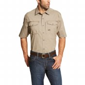 10019160 REBAR WORKMAN WORK SHIRT
