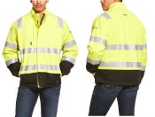 10024022 ARIAT FR HI-VIS WATERPROOF INSULATED JACKET
