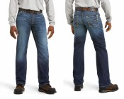 10026004 ARIAT FR M5 SLIM DURASTRETCH TRUCKEE STACKABLE STRAIGHT LEG JEAN