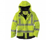 100787 High Visibility Waterproof Class 3 Sherwood Jacket