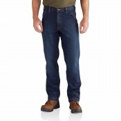 102808 Rugged Flex Relaxed Dungaree Jean