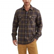 102825 Rugged Flex Hamilton Snap-Front Plaid Shirt