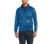 102831 Force Extremes Mock-Neck Half-Zip Sweatshirt