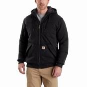 103312 Rain Defender Rockland Quilt Lined Full Zip Hooded Sweatshirt