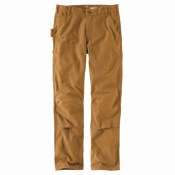103334 Rugged Flex® Relaxed Fit Duck Double Front Pant