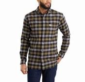 103820 Rugged Flex® Hamilton Plaid Long-Sleeve Shirt