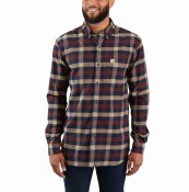 103820 Rugged Flex® Hamilton Plaid Long-Sleeve Shirt