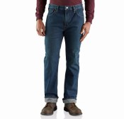 103895 Rugged Flex® Relaxed Straight Jean - Knit Lined