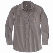 104138 Flame-Resistant Force Original Fit Lightweight Long-Sleeve Button Front Shirt
