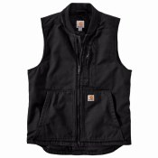 104395 Washed Duck Vest