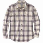 104451 Original Fit Flannel Long-Sleeve Plaid Shirt