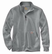 104475 Force Relaxed Fit Midweight Quarter-Zip Pocket Sweatshirt