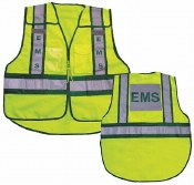 Vest25 Forester Hi-Vis EMS 5 Point Tear Away Vest