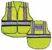 Vest26 Forester Hi-Vis Police 5 Point Tear Away Vest
