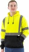 75-5327 Hi-Vis Hooded Pullover Sweatshirt