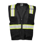 B100V Enhanced Visibility Multi-Pocket Mesh Vest