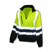 FORP582 High Visibility Class 3 Fleece Safety Pullover