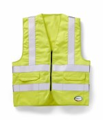 FR1603YH HI VIS FR VEST WITH POCKETS