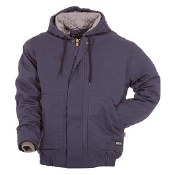 FRHJ01 Flame Resistant Quilt Lined Hooded Jacket