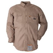 FRSH10 Berne Flame Resistant Button Down Workshirt