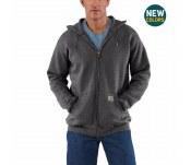 K122 Midweight Hooded Zip-Front Sweatshirt