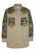 FR1103 WC/KH FR Two Tone Work Shirt