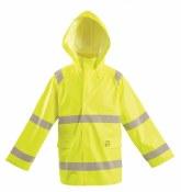 LUX-TJR/FR2 Flame Resistant Hi-Vis Rain Jacket