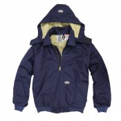 FR3504NV Flame Resistant Hooded Jacket